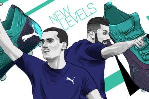 Puma et l'agence Lafourmi subliment Griezmann, Giroud et Rami dans une campagne digitale