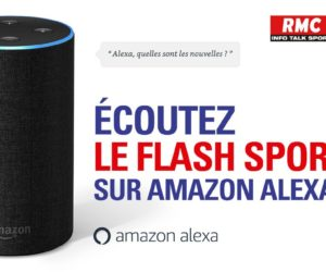 L'Equipe et RMC proposent un flash d'actualité sur Amazon Echo, l'assistant vocal d'Amazon