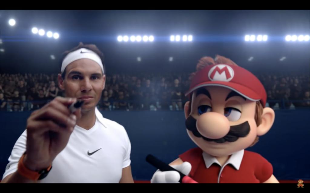 Rafael Nadal affronte Mario pour Nintendo Switch