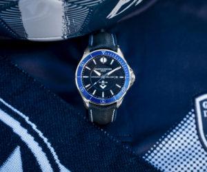 Une montre Baume & Mercier en édition limitée aux couleurs des Girondins de Bordeaux