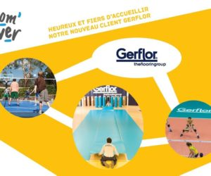 L'agence Com'Over va collaborer avec Gerflor