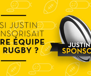 Justin Bridou relance son opération «Justin Sponsor»
