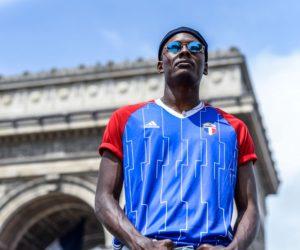 adidas dévoile un maillot spécial pour les Bleus de 98 et le match de Légende à la U-Arena