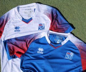 Shopping – Les maillots Errea de l'Islande pour la Coupe du Monde 2018