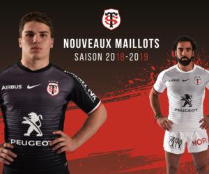 Le Stade Toulousain dévoile ses nouveaux maillots Nike pour 2018-2019