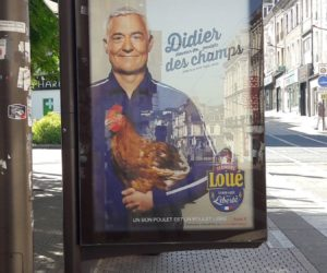 Ambush Marketing – Les poulets de Loué s'offrent un sosie de Didier Deschamps à l'occasion de la Coupe du Monde 2018