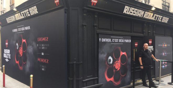Coupe du Monde 2018 – Ubi Bene offre une expérience inédite avec le «Russian Roulette Bar» de Winamax