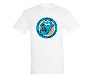 L'OM et les Rolling Stones s'associent pour une collaboration de T-shirts