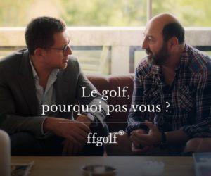 Ryder Cup : la FFGolf lance une websérie avec Dany Boon et Kad Merad
