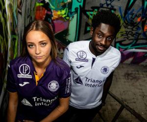 Les nouveaux maillots du Toulouse Football Club pour 2018-2019 (Joma)