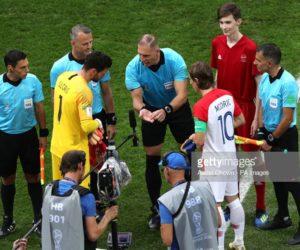 Finale France – Croatie : Un toss au goût de Coca-Cola avec l'arbitre Nestor Pitana