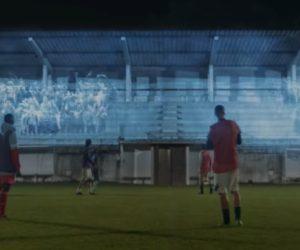 SFR et RMC Sport piègent des footballeurs amateurs en leur offrant une expérience UEFA Champions League sur leur terrain