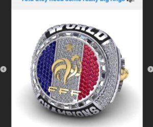 Antoine Griezmann souhaite une bague de Champion du Monde façon NBA