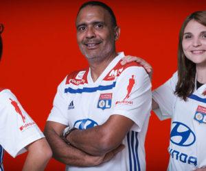 Adéquat nouveau sponsor manche de l'Olympique Lyonnais jusqu'en 2020
