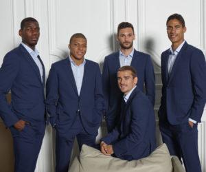Smalto, costume officiel des Bleus champions du Monde 2018