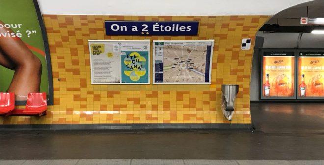 La RATP renomme 6 stations de métro pour célébrer la victoire de l'Equipe de France face à la Croatie en finale de la Coupe du Monde 2018