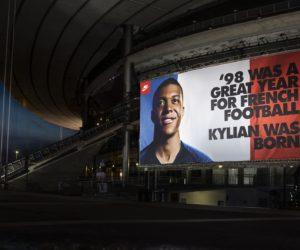 Comment Nike communique autour de Kylian Mbappe pendant la Coupe du Monde 2018