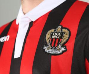 Sponsoring – Du changement sur les nouveaux maillots 2018-2019 de l'OGC Nice
