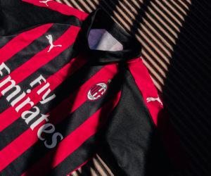 Puma dévoile le nouveau maillot domicile de l'AC Milan pour 2018-2019