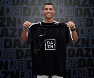 Cristiano Ronaldo nouvel ambassadeur de la plateforme de streaming 100% sport DAZN