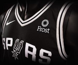 NBA – Frost Bank devient le sponsor maillot des San Antonio Spurs