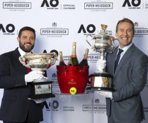 Tennis – Piper-Heidsieck devient le premier Champagne Officiel de l'Open d'Australie