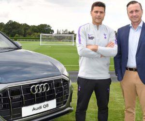 Audi nouveau partenaire automobile de Tottenham