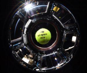 L'US Open fait parler de lui avec le premier match de tennis dans l'espace