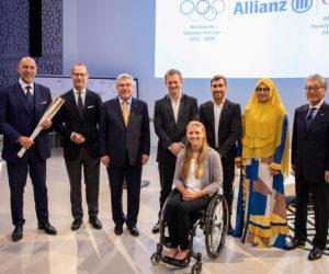 Allianz devient l'assureur mondial des Jeux Olympiques et partenaire TOP du CIO jusqu'en 2028