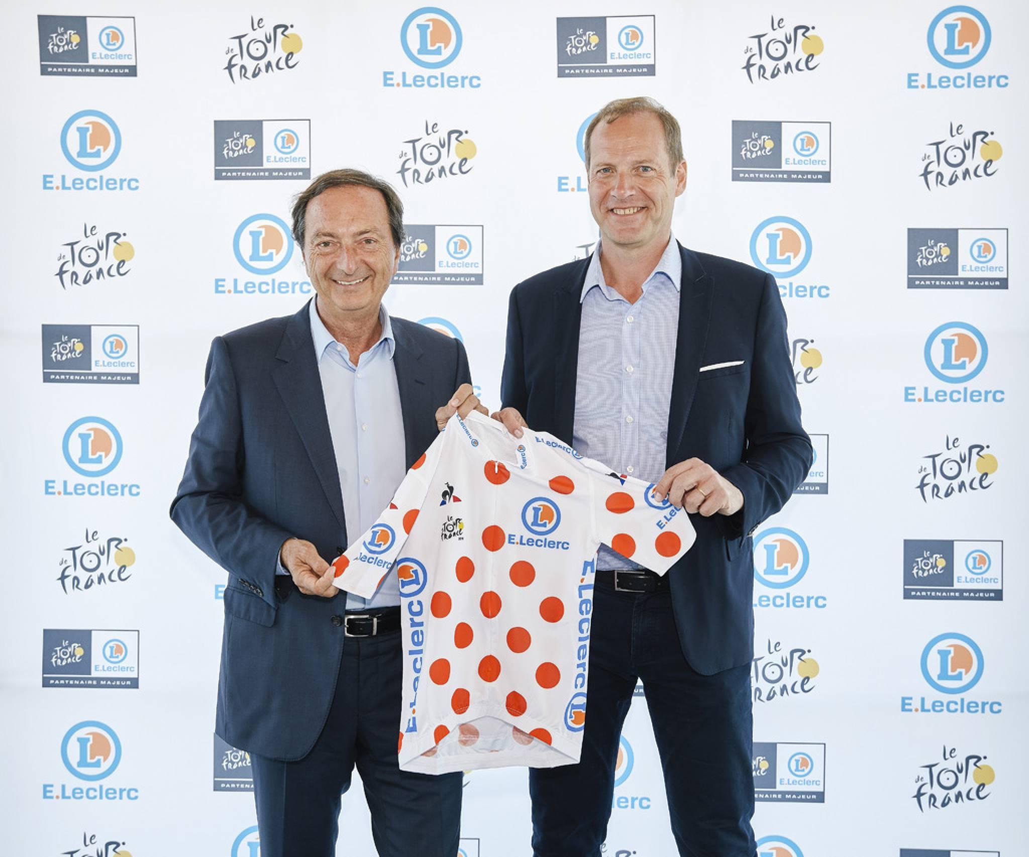 Tour de France: Leclerc, nouveau sponsor du