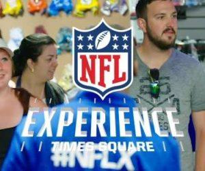 «NFL Experience» sur Times Square, c'est déjà fini