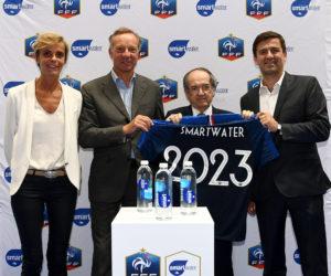 Sponsoring – Smartwater nouvelle eau officielle de l'Equipe de France de Football
