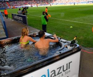 Deux sponsors du SM Caen se font remarquer lors de la réception de l'OL