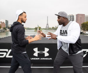 Under Armour met en scène Steph Curry et Teddy Riner à Paris