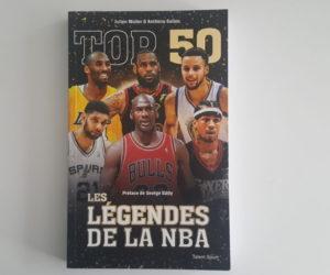 Concours : Nous vous offrons 2 livres «TOP 50 – Les légendes de la NBA»