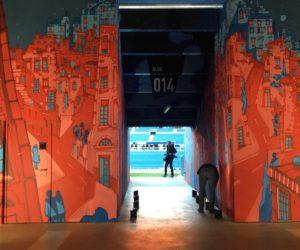 L'Olympique Lyonnais lance une galerie de street art dans son Groupama Stadium