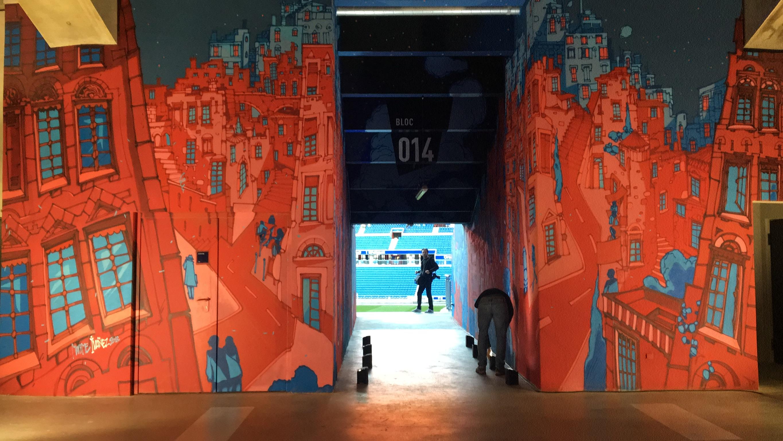 LOlympique Lyonnais Lance Une Galerie De Street Art Dans Son