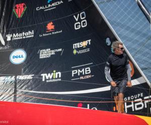 Twin Solutions sponsorise le bateau du navigateur Kito de Pavant, le Class 40 Made in Midi pour la Route du Rhum 2018