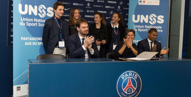 Nouvelle alliance pour le Paris Saint-Germain handball et l'UNSS