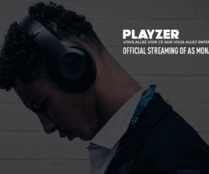Playzer « Streamer Officiel » de l'AS Monaco