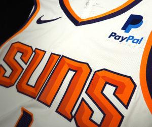 NBA – Paypal devient sponsor maillot des Phoenix Suns