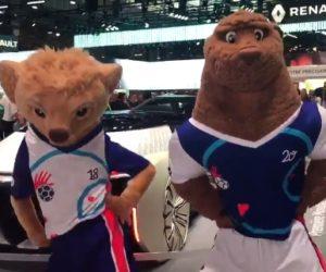 Renault transporteur officiel de l'Euro féminin de Handball 2018 organisé en France