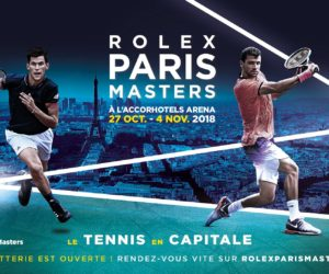 Tennis – Nouvelle augmentation du prize money pour le Rolex Paris Masters 2018