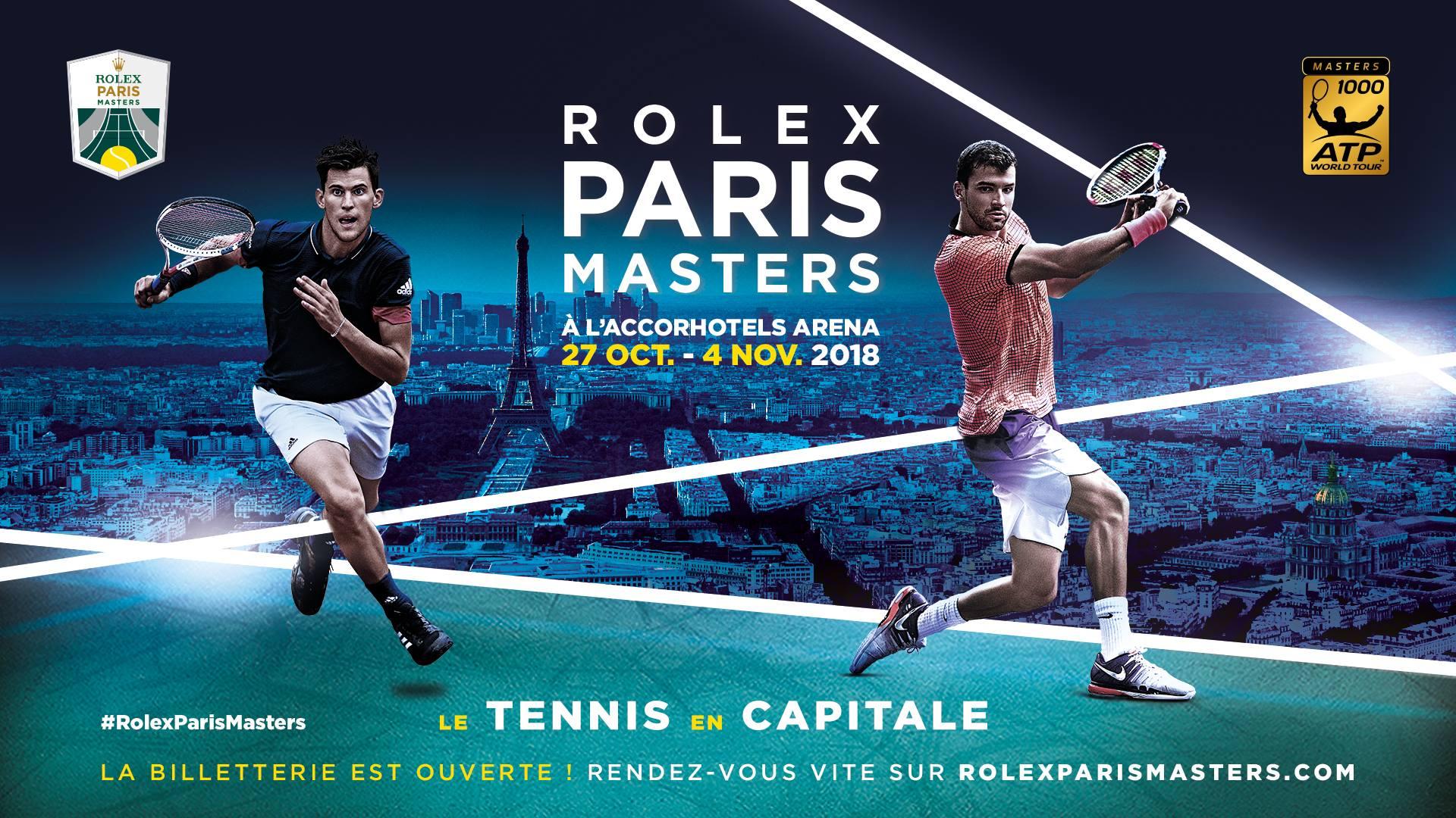 new concept 588cc 53454 Cette semaine, l AccorHotels Arena accueille le Rolex Paris Masters. 2  Naming dans une même phrase qui donne le tournis mais réalité du business  ...