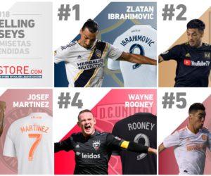 MLS – TOP 25 des joueurs qui vendent le plus de maillots sur la saison 2018