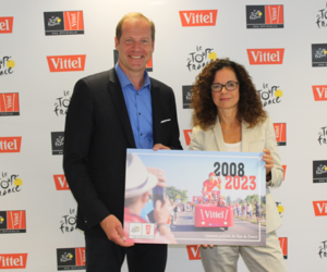 Sponsoring – Vittel prolonge avec le Tour de France jusqu'en 2023