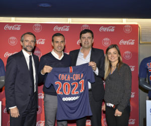 Coca-Cola et le PSG renouvellent leur partenariat pour 3 ans