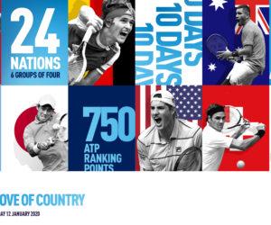 Tennis – Le nouveau logo de l'ATP Cup et le prize money dévoilés officiellement