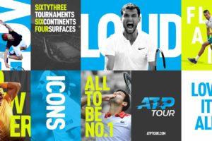 Tennis – Le circuit ATP dévoile son nouveau logo et lance sa nouvelle campagne «Love It All»