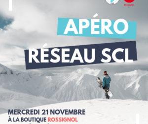 Event – Apéro Réseau «Sport Connect Lyon» chez Rossignol le mercredi 21 novembre à 19h